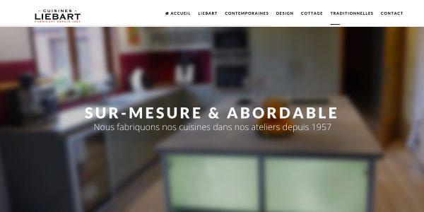 Cuisines Liebart – Site Internet