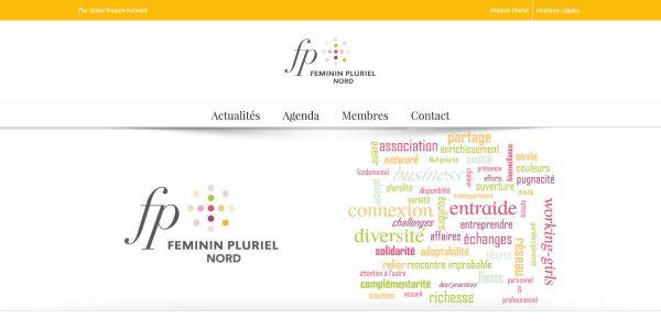Féminin Pluriel Nord – Site Internet