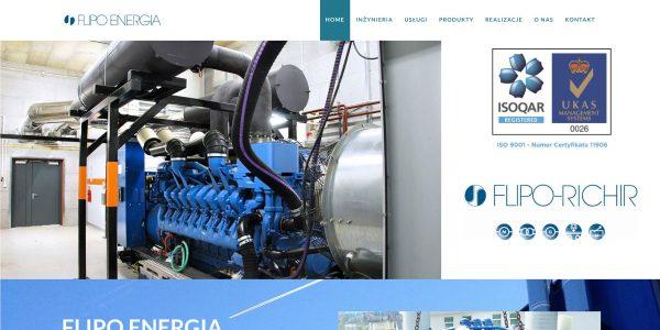 Flipo Energia – Site Internet