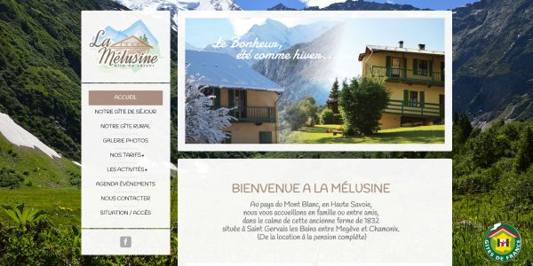 La Mélusine – Site Internet