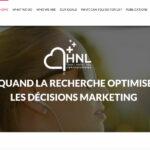 HNL Conception – Site Internet