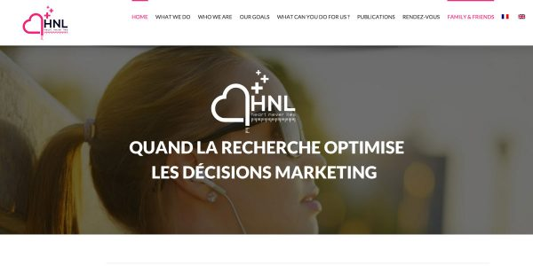 HNL Conception – Site Internet