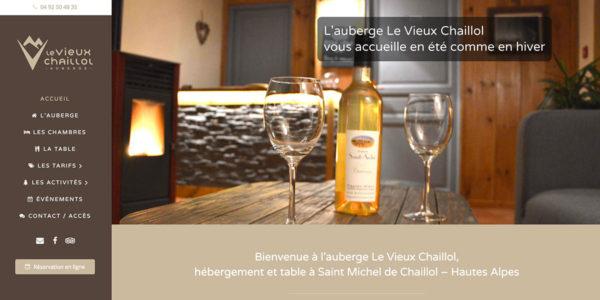 LE VIEUX CHAILLOL – Site Internet