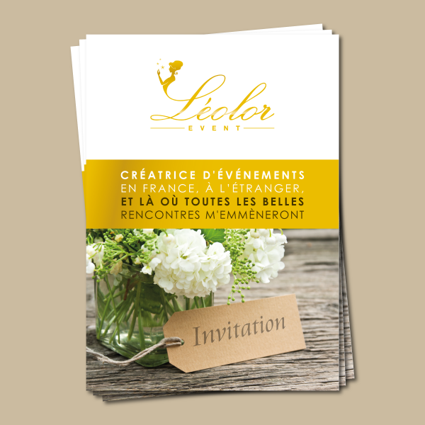 Léolor Event Flyer