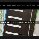 Perspective Menuiserie – Site Internet