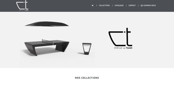 PING-PONG BY TOULET – Site Internet