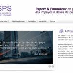 SPS Conseil – Site Internet