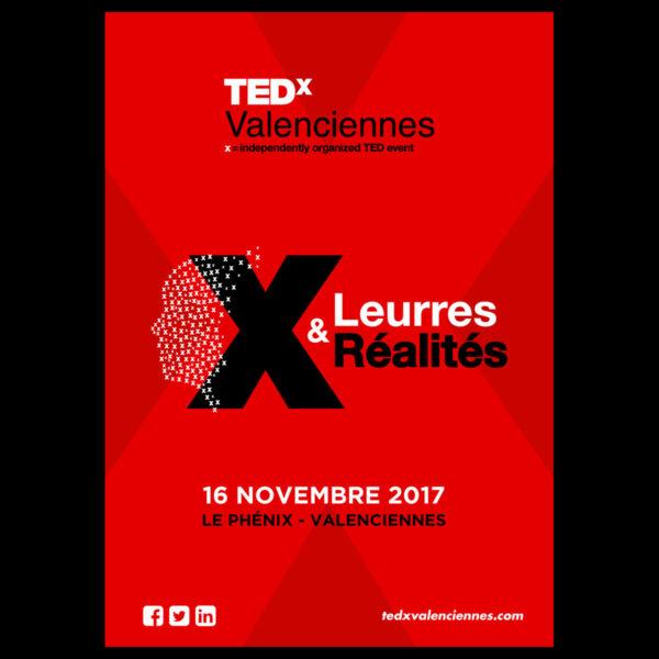 TedX Valenciennes – Affiche
