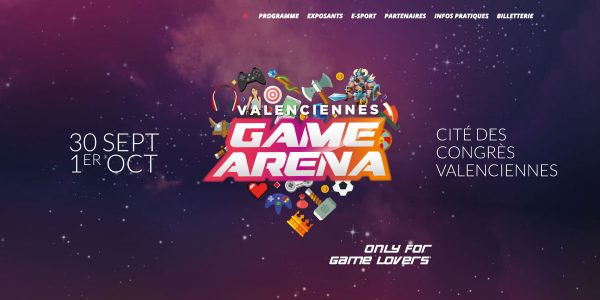 VALENCIENNES GAME ARENA – Site Internet